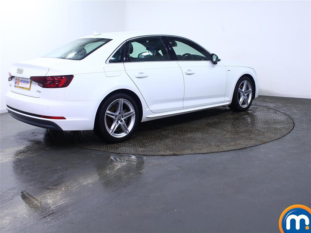 Audi A4 S Line Manual Petrol Saloon - Stock Number (972087) - Drivers side rear corner