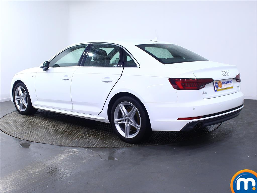 Audi A4 S Line Manual Petrol Saloon - Stock Number (972087) - Passenger side rear corner