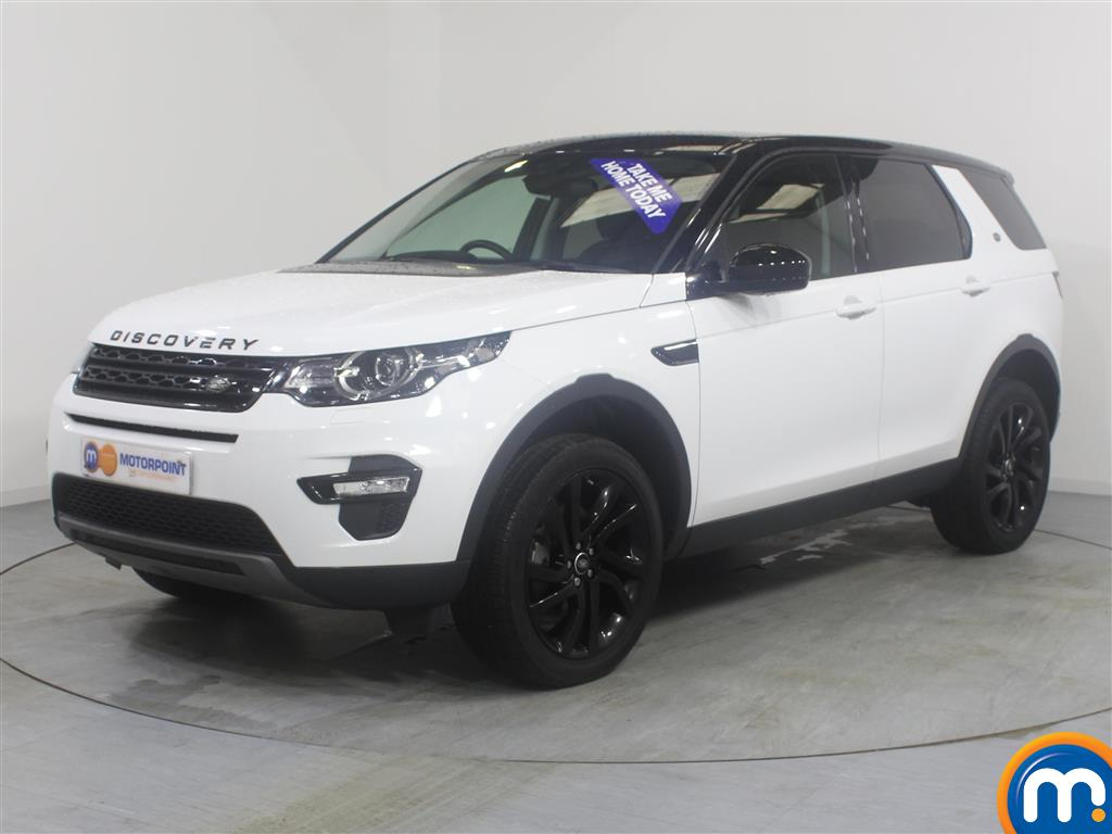Land Rover Discovery Sport HSE Black - Stock Number (967556) - Passenger side front corner