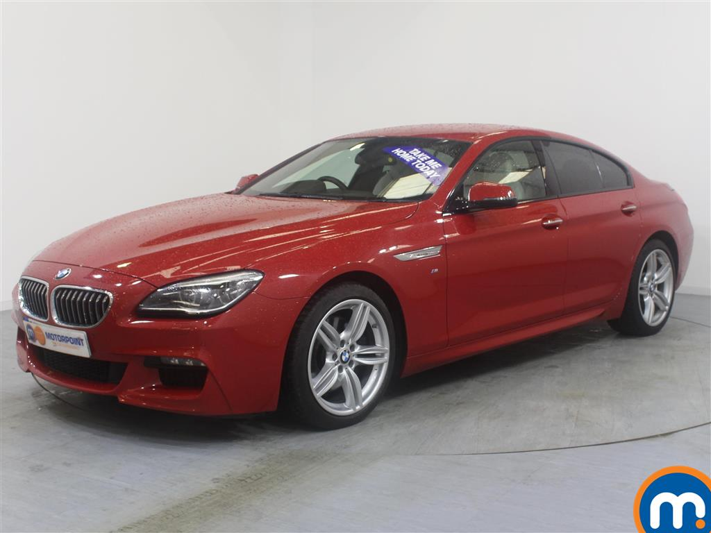 BMW 6 Series M Sport Automatic Diesel Saloon - Stock Number (967497) - Passenger side front corner