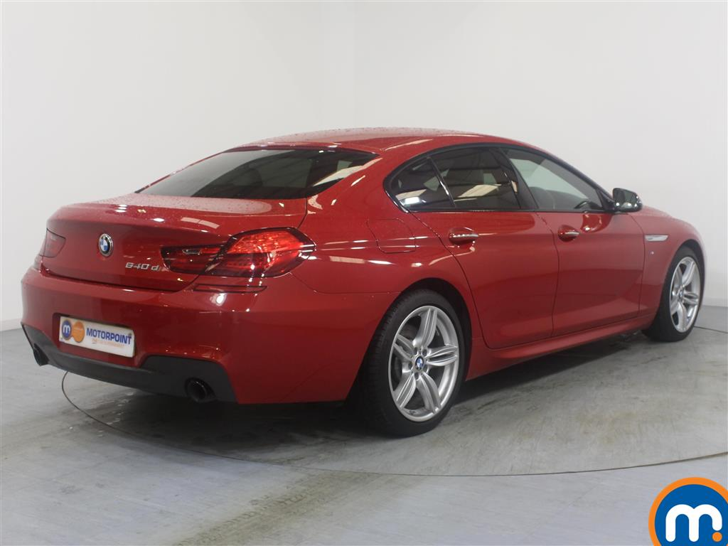BMW 6 Series M Sport Automatic Diesel Saloon - Stock Number (967497) - Drivers side rear corner