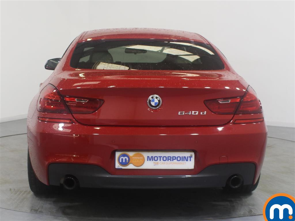 BMW 6 Series M Sport Automatic Diesel Saloon - Stock Number (967497) - Rear bumper