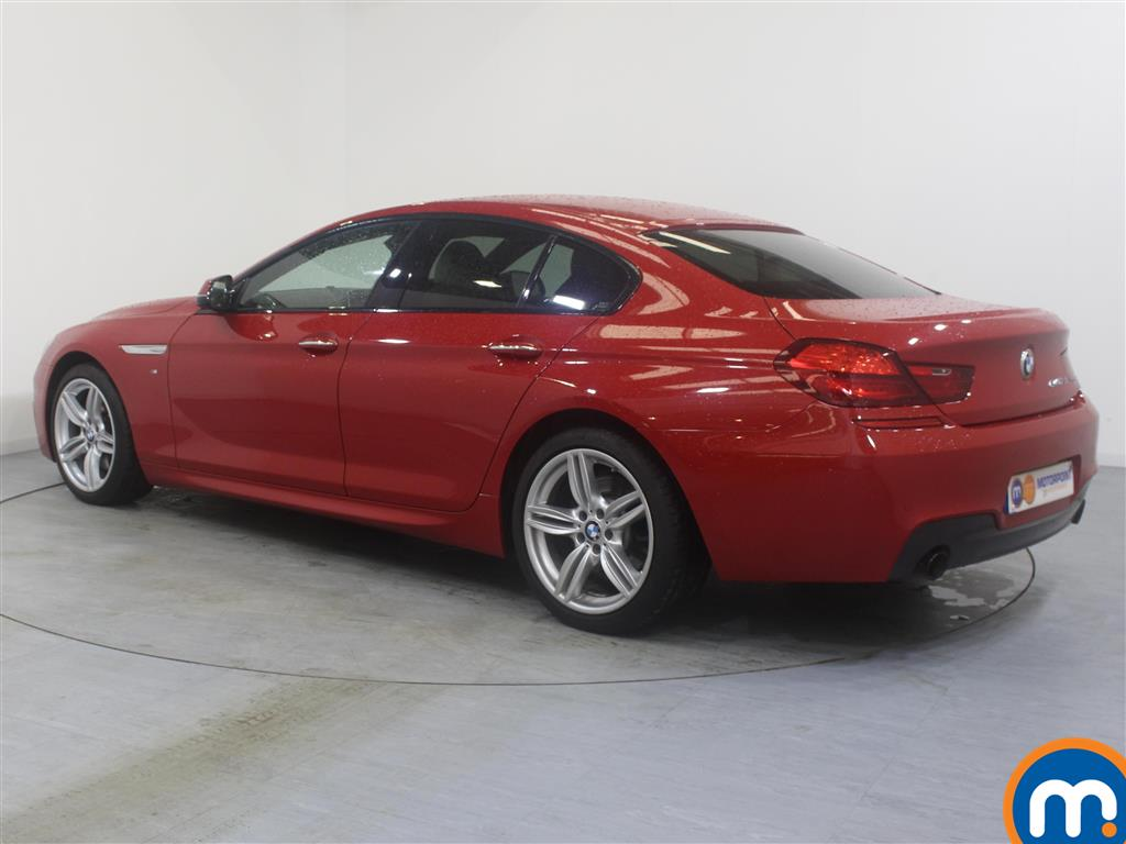 BMW 6 Series M Sport Automatic Diesel Saloon - Stock Number (967497) - Passenger side rear corner