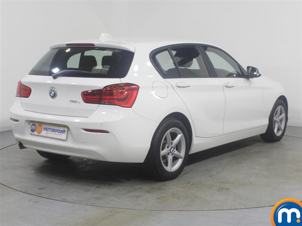 BMW 1 Series Se Business Manual Diesel Hatchback - Stock Number (968115) - Drivers side rear corner
