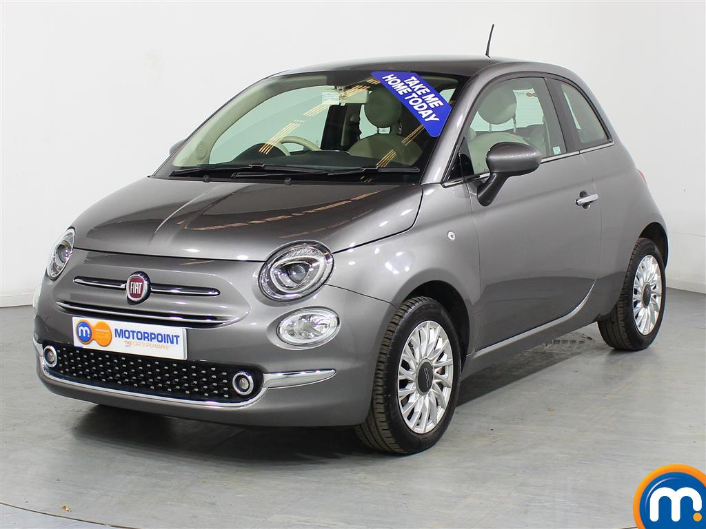 Fiat 500 Lounge - Stock Number (972340) - Passenger side front corner
