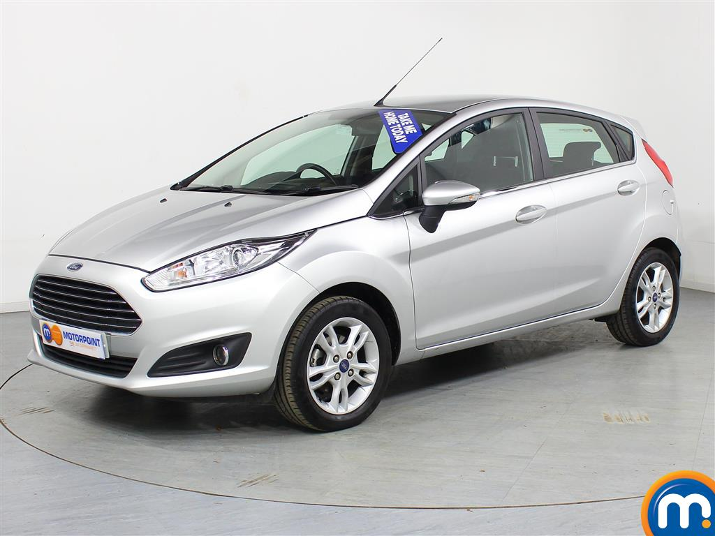 Ford Fiesta Zetec - Stock Number (973240) - Passenger side front corner