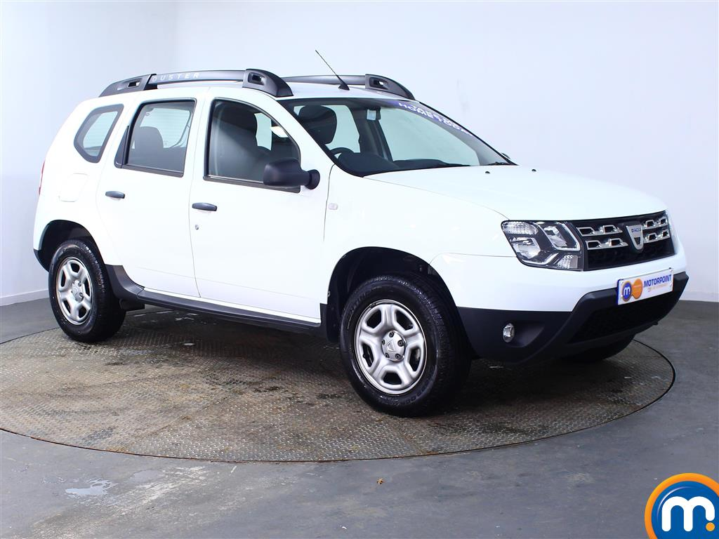 Dacia Duster AIR Manual Petrol Crossover - Stock Number (971660) - Drivers side front corner