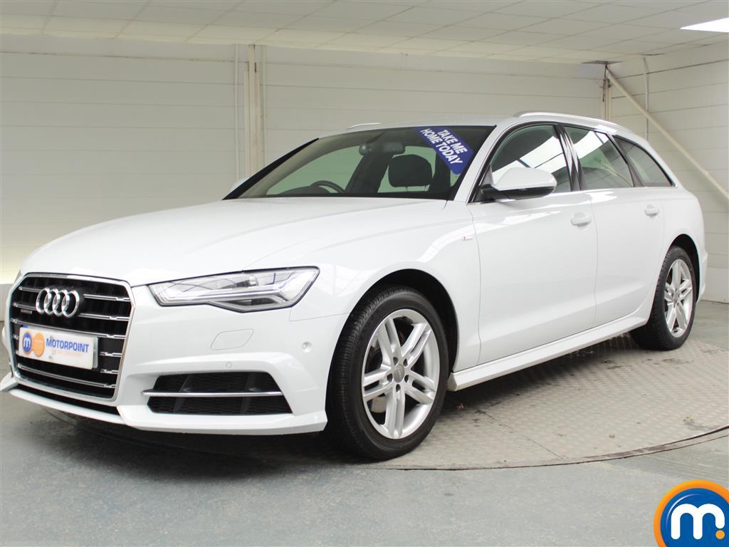 Audi A6 S Line - Stock Number (972119) - Passenger side front corner