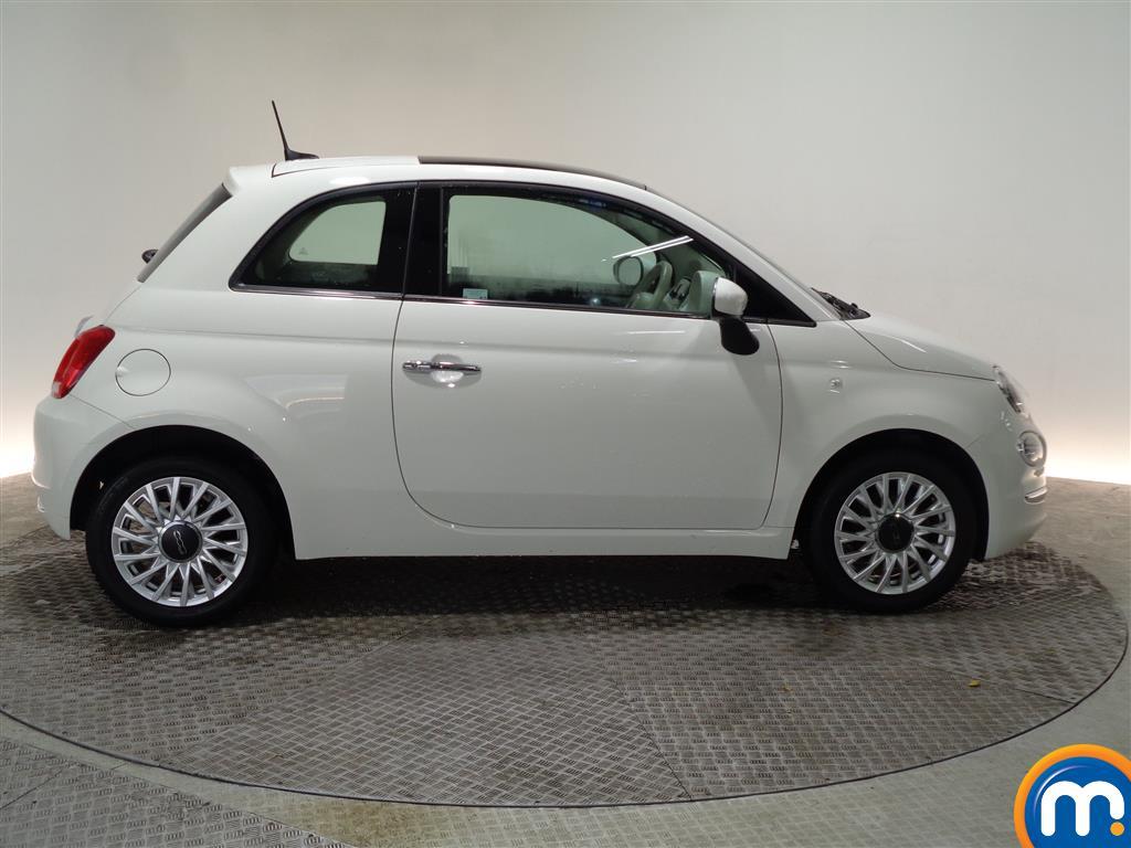 Fiat 500 Lounge Manual Petrol Hatchback - Stock Number (966279) - Drivers side