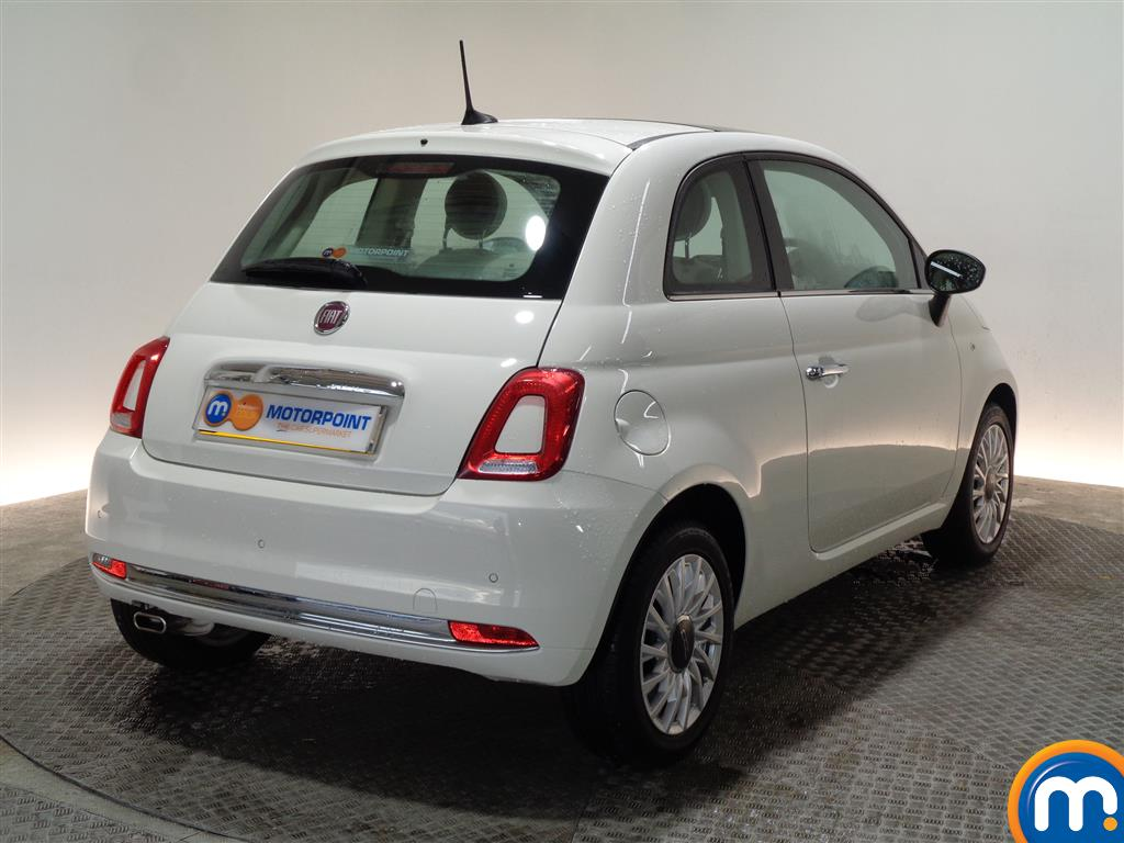 Fiat 500 Lounge Manual Petrol Hatchback - Stock Number (966279) - Drivers side rear corner