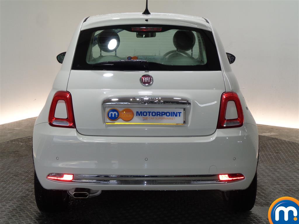 Fiat 500 Lounge Manual Petrol Hatchback - Stock Number (966279) - Rear bumper