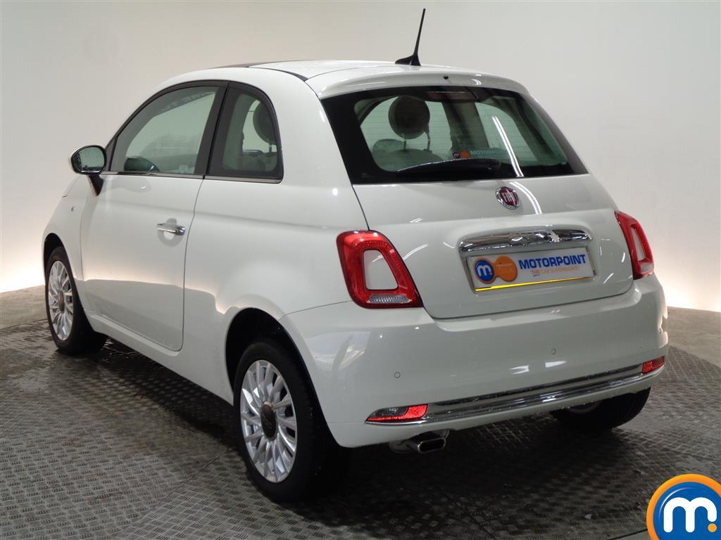 Fiat 500 Lounge Manual Petrol Hatchback - Stock Number (966279) - Passenger side rear corner