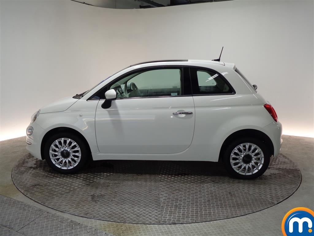 Fiat 500 Lounge Manual Petrol Hatchback - Stock Number (966279) - Passenger side