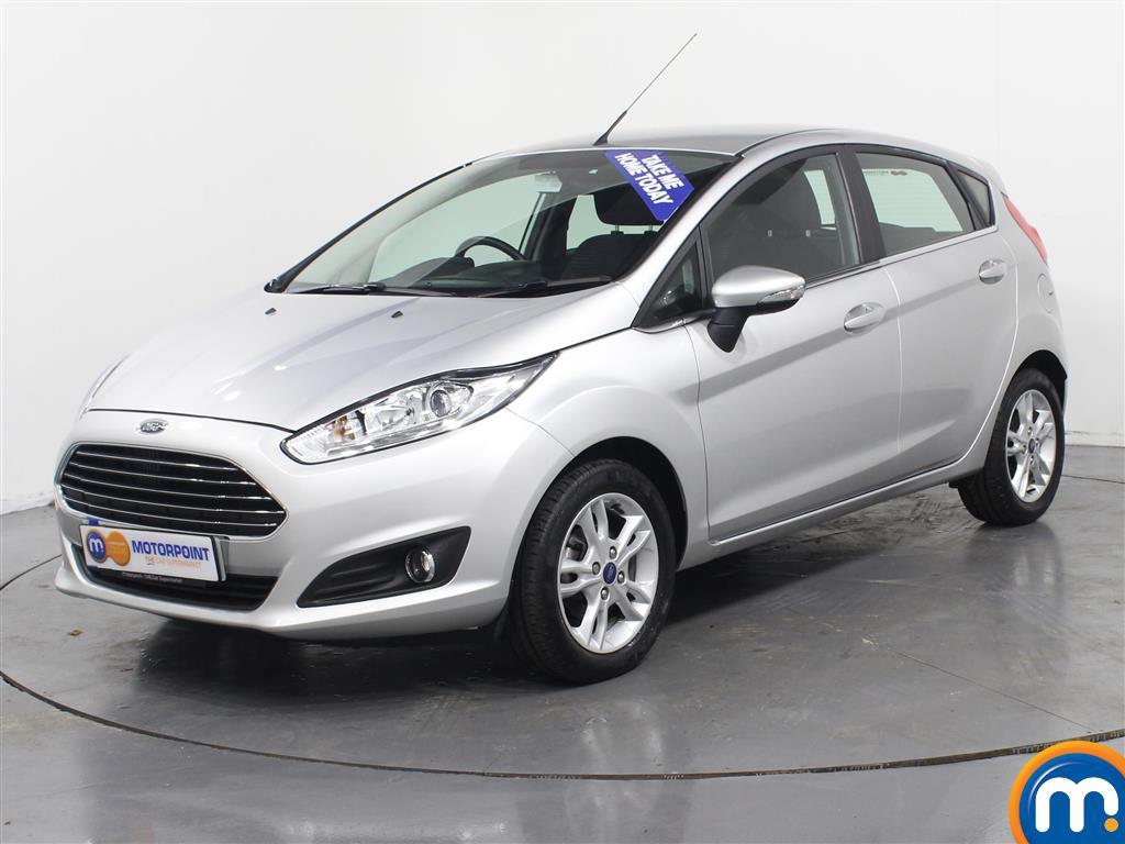 Ford Fiesta Zetec - Stock Number (970895) - Passenger side front corner