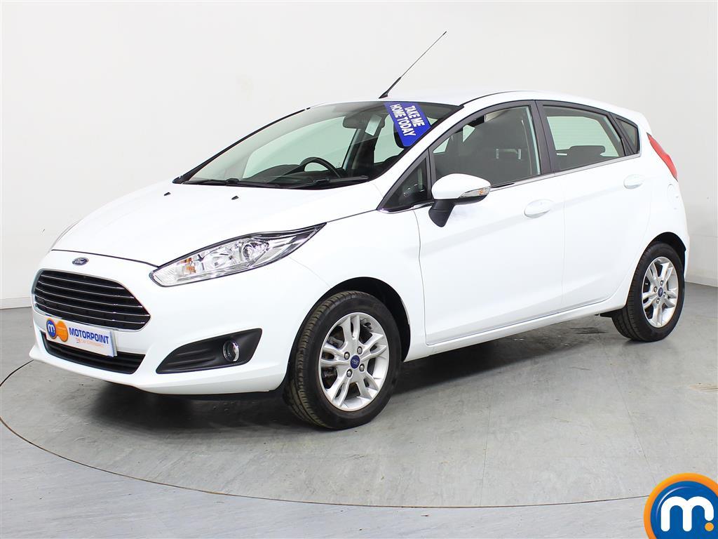 Ford Fiesta Zetec - Stock Number (970254) - Passenger side front corner