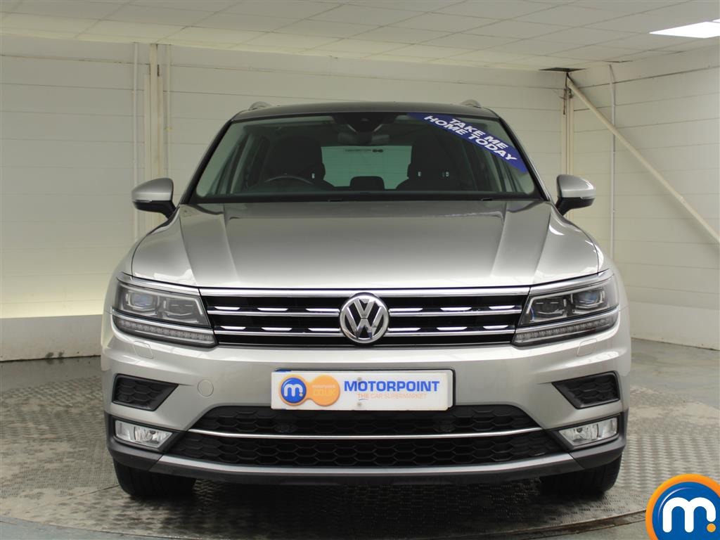 Volkswagen Tiguan SEL Manual Diesel Estate - Stock Number (970189) - Front bumper