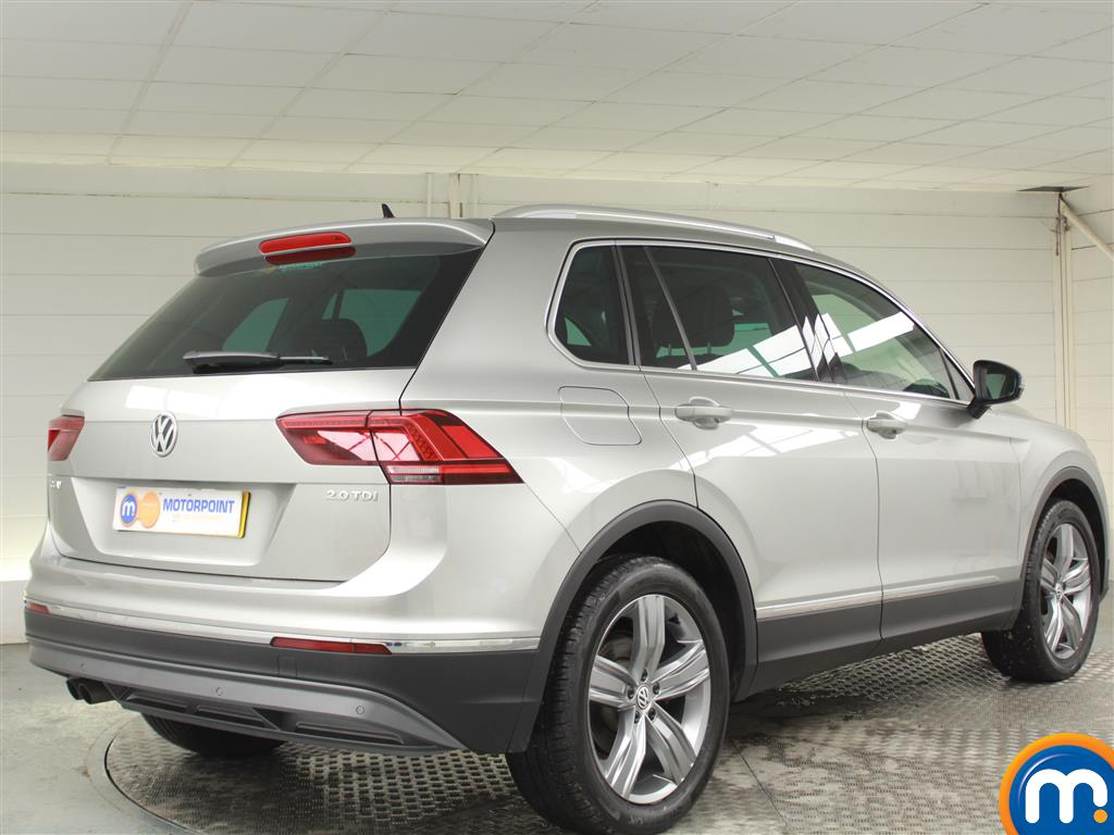 Volkswagen Tiguan SEL Manual Diesel Estate - Stock Number (970189) - Drivers side rear corner
