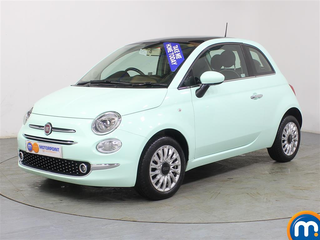 Fiat 500 Lounge - Stock Number (966249) - Passenger side front corner