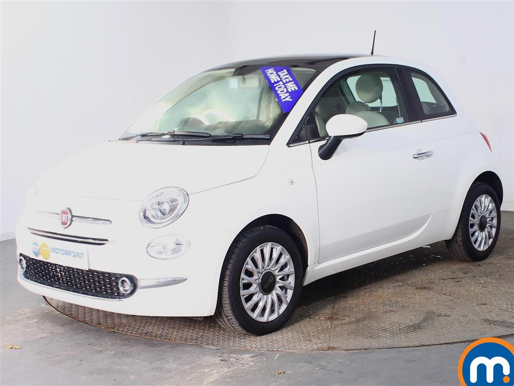 Fiat 500 Lounge - Stock Number (968672) - Passenger side front corner