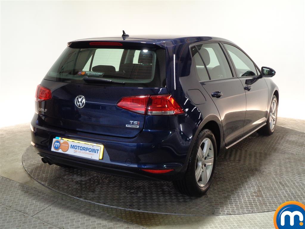 Volkswagen Golf Match Edition Manual Petrol Hatchback - Stock Number (971340) - Drivers side rear corner