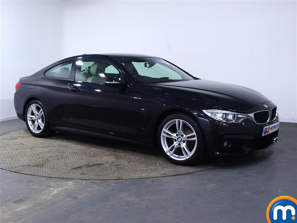 BMW 4 Series M Sport Automatic Petrol Coupe - Stock Number (973320) - Drivers side front corner