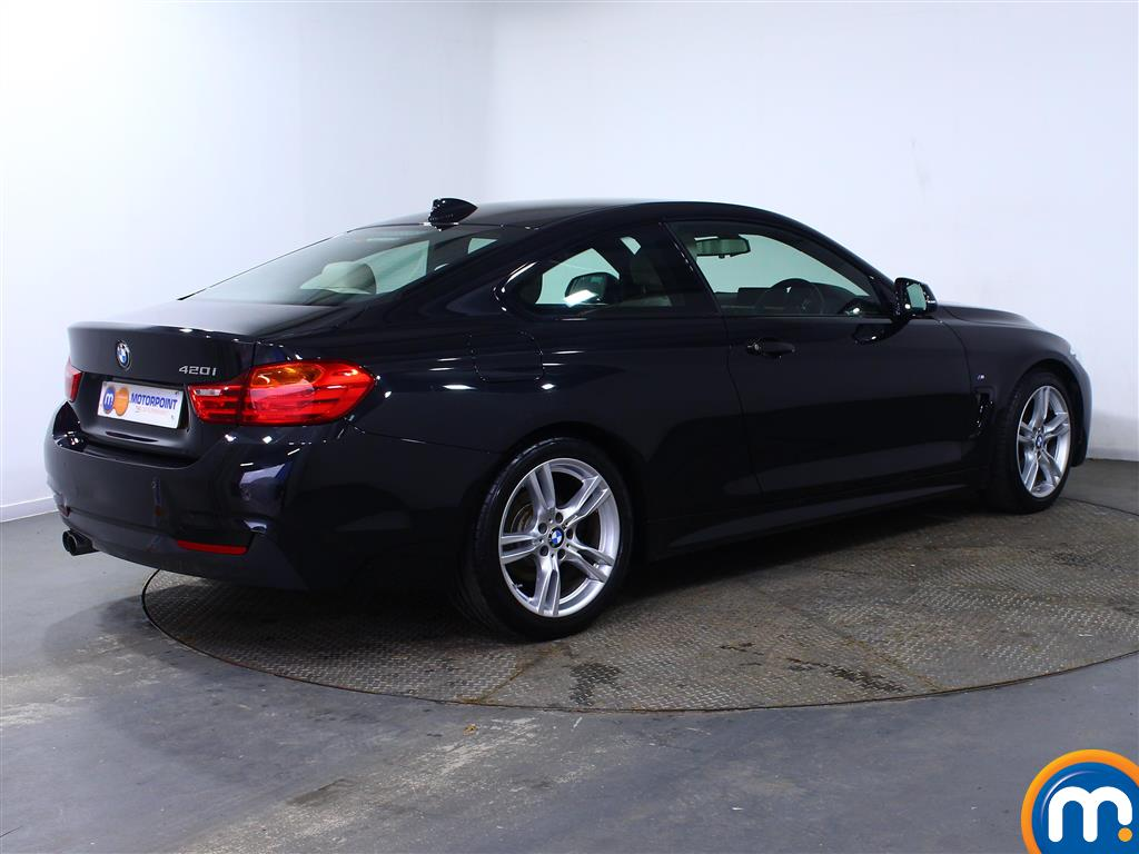 BMW 4 Series M Sport Automatic Petrol Coupe - Stock Number (973320) - Drivers side rear corner