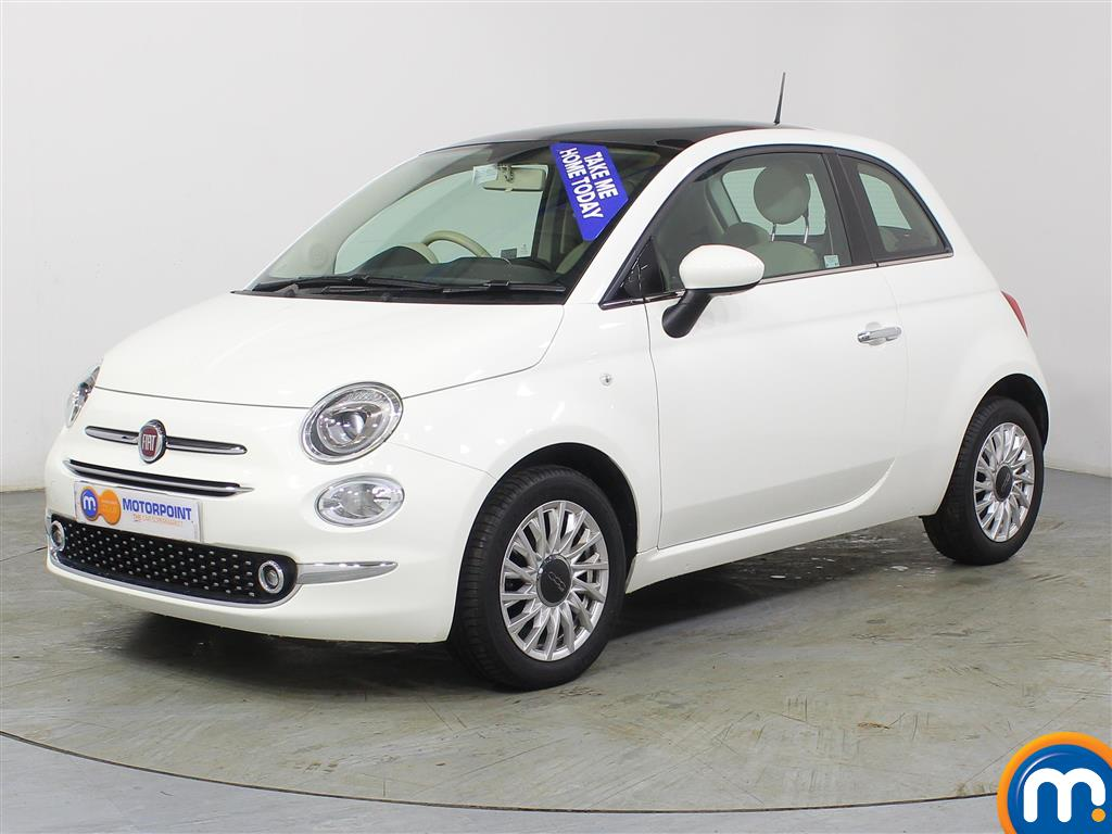 Fiat 500 Lounge - Stock Number (972151) - Passenger side front corner