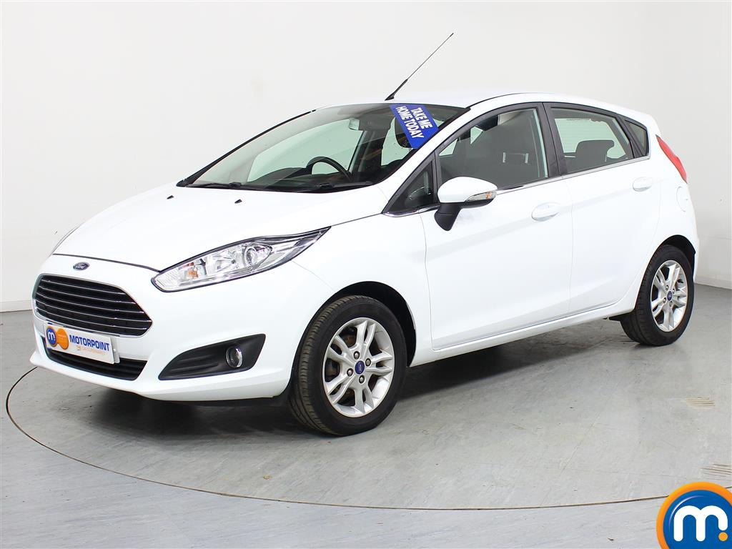 Ford Fiesta Zetec - Stock Number (970871) - Passenger side front corner