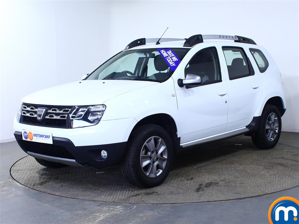 Dacia Duster Nav-Plus - Stock Number (971643) - Passenger side front corner