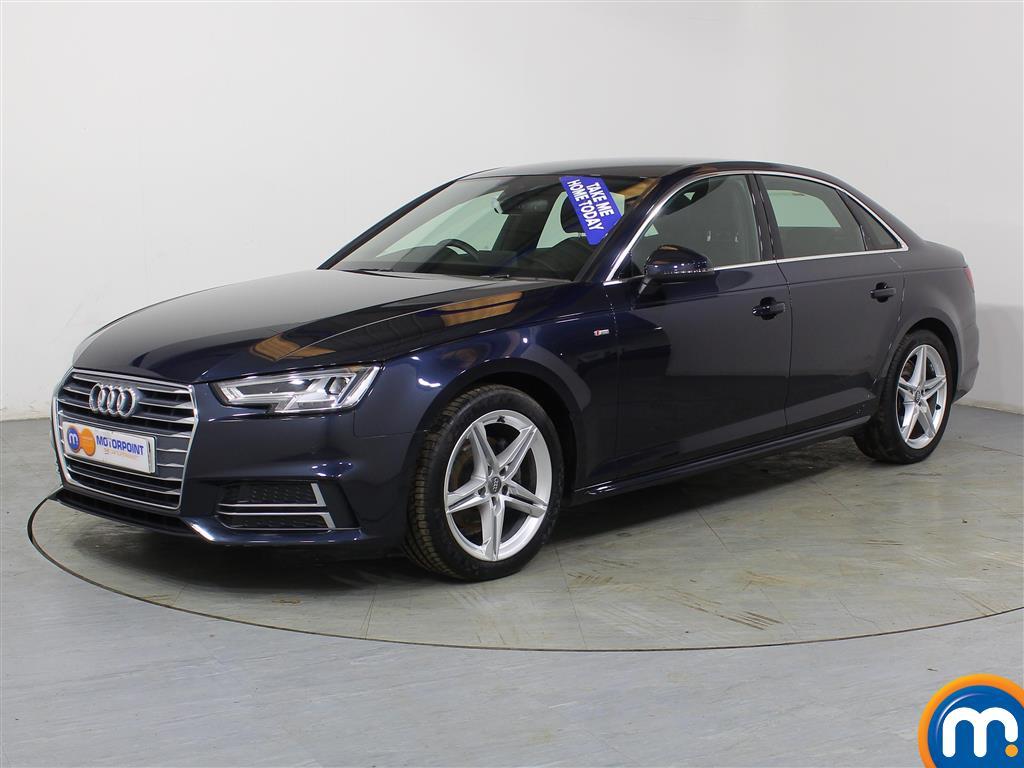 Audi A4 S Line - Stock Number (968229) - Passenger side front corner