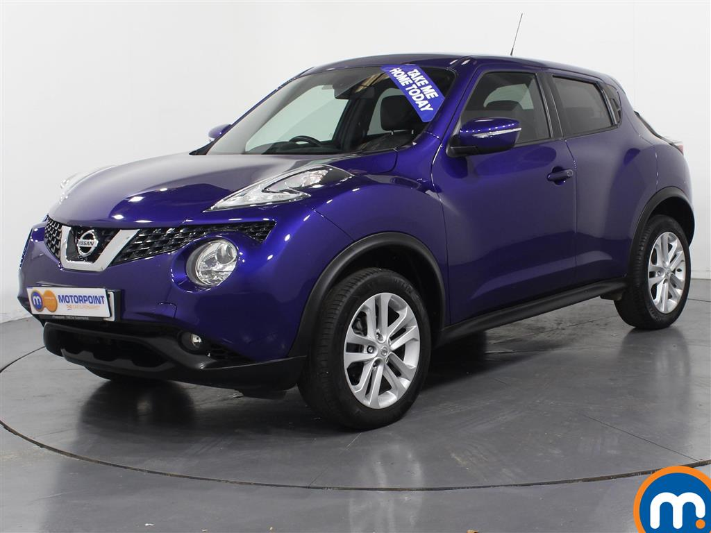 Nissan Juke N-Connecta - Stock Number 970887 Passenger side front corner