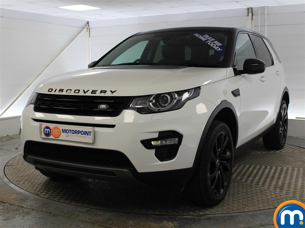 Land Rover Discovery Sport HSE Black - Stock Number (975592) - Passenger side front corner