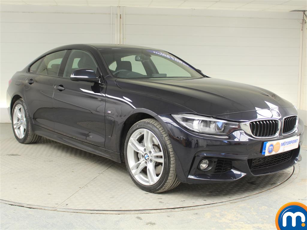 BMW 4 Series M Sport Automatic Diesel Coupe - Stock Number (970126) - Drivers side front corner
