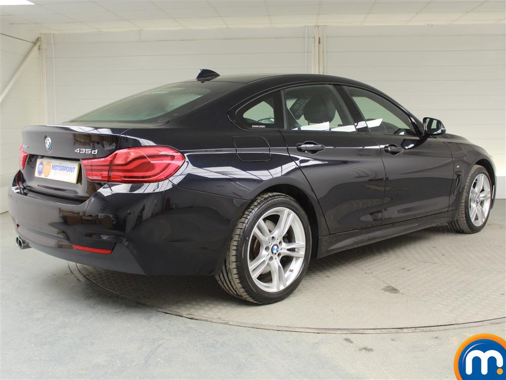 BMW 4 Series M Sport Automatic Diesel Coupe - Stock Number (970126) - Drivers side rear corner