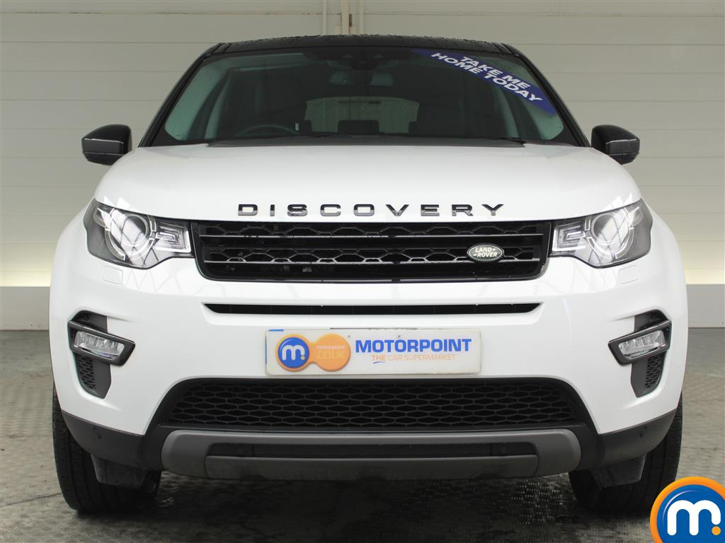 Land Rover Discovery Sport Hse Black Automatic Diesel 4X4 - Stock Number (969826) - Front bumper