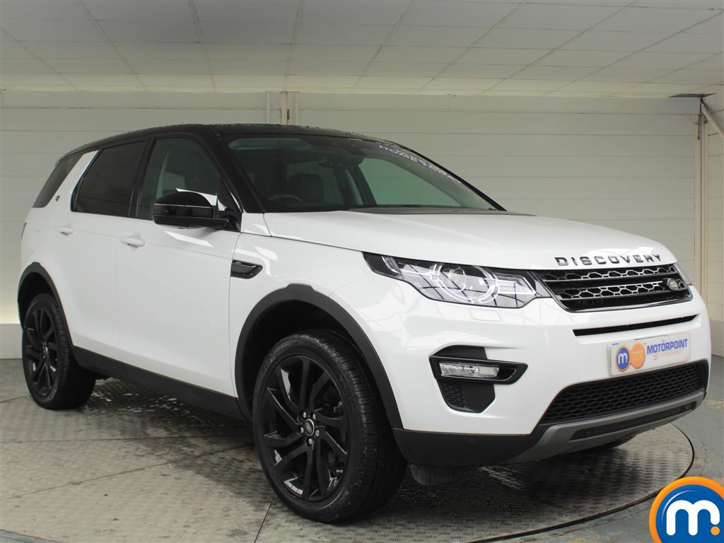 Land Rover Discovery Sport Hse Black Automatic Diesel 4X4 - Stock Number (969826) - Drivers side front corner