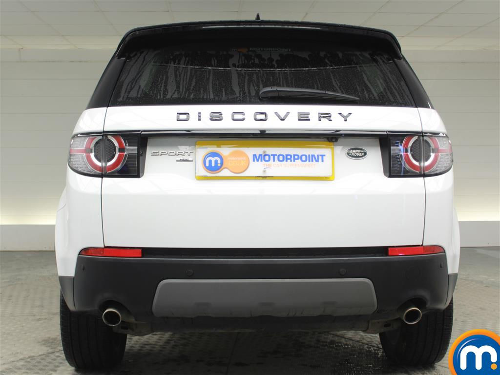 Land Rover Discovery Sport Hse Black Automatic Diesel 4X4 - Stock Number (969826) - Rear bumper