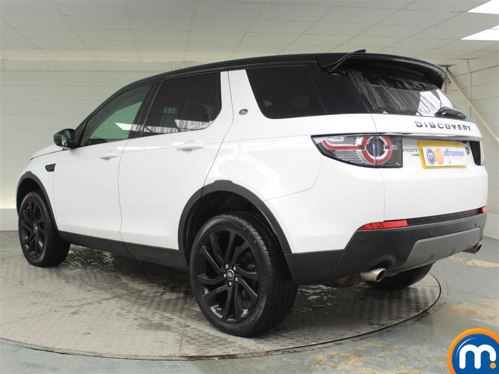 Land Rover Discovery Sport Hse Black Automatic Diesel 4X4 - Stock Number (969826) - Passenger side rear corner