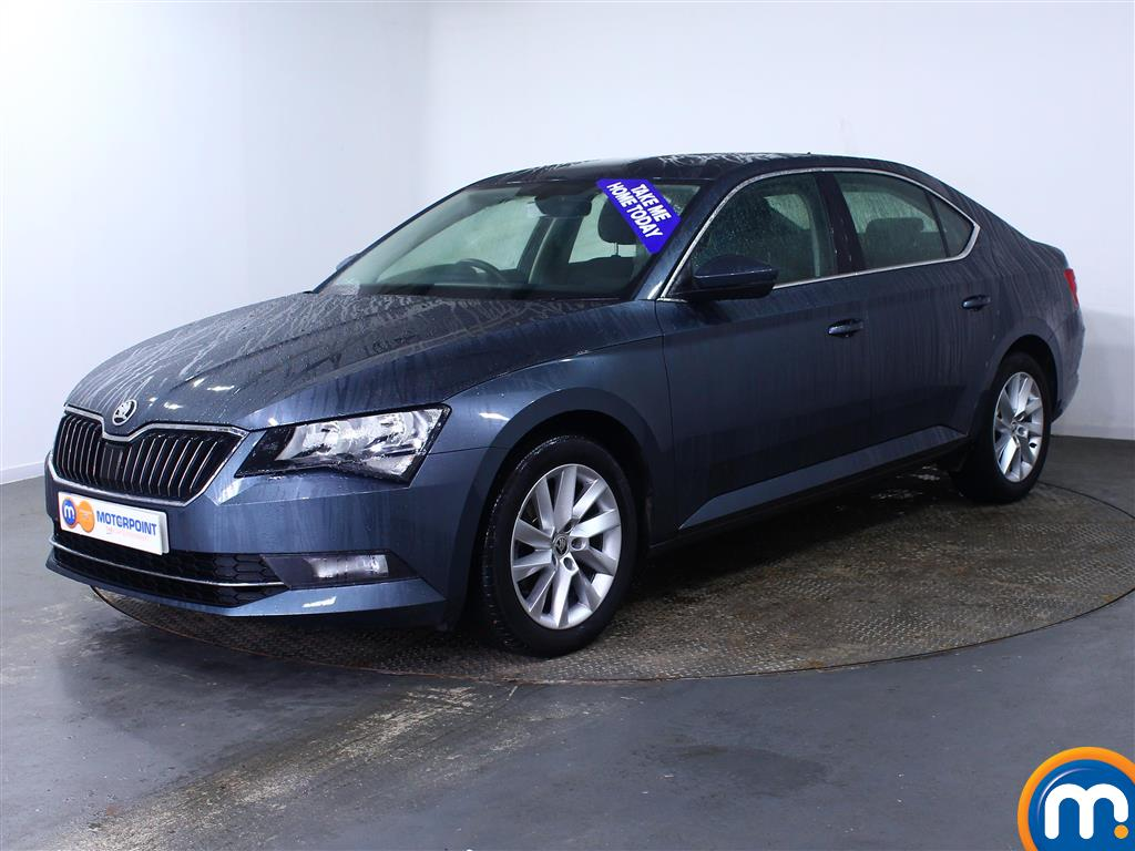 Skoda Superb SE - Stock Number (974624) - Passenger side front corner