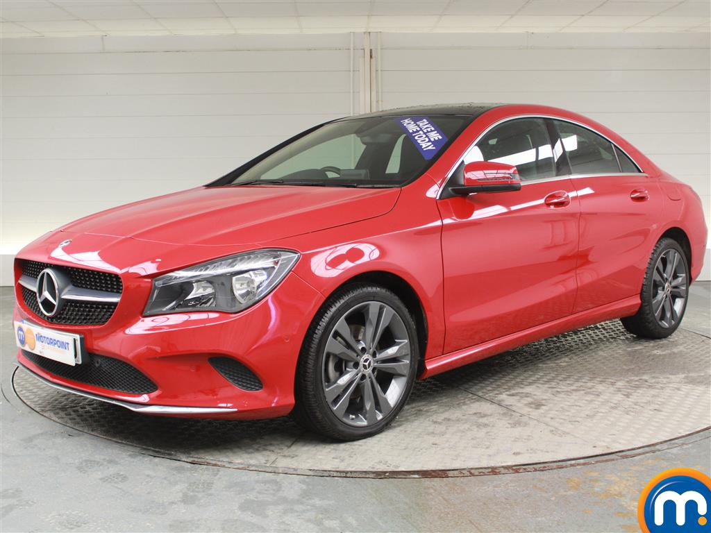 Mercedes-Benz Cla Class Sport - Stock Number (970149) - Passenger side front corner