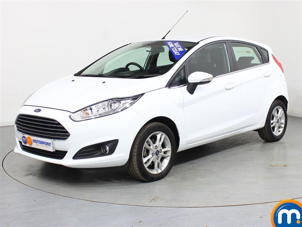 Ford Fiesta Zetec - Stock Number (971463) - Passenger side front corner