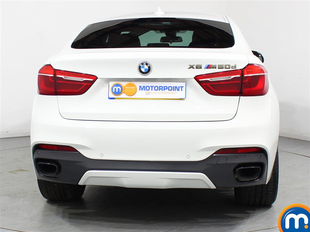 BMW X6 Xdrive M50d 5Dr Auto Automatic Diesel Estate - Stock Number (973786) - Rear bumper