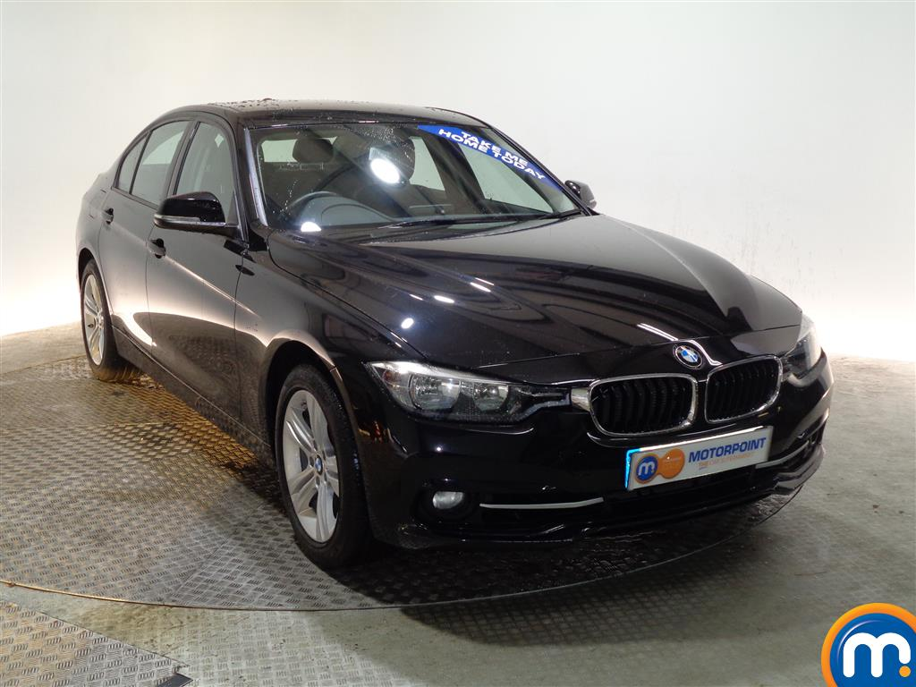 BMW 3 Series Sport Automatic Petrol Saloon - Stock Number (973744) - Drivers side front corner