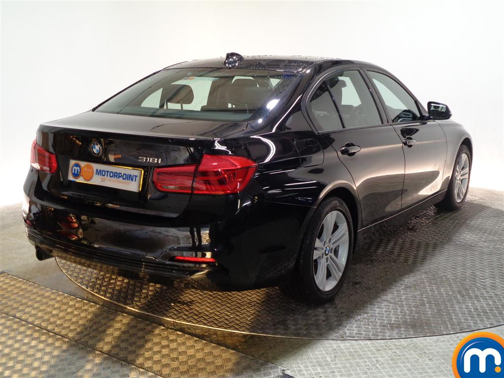 BMW 3 Series Sport Automatic Petrol Saloon - Stock Number (973744) - Drivers side rear corner