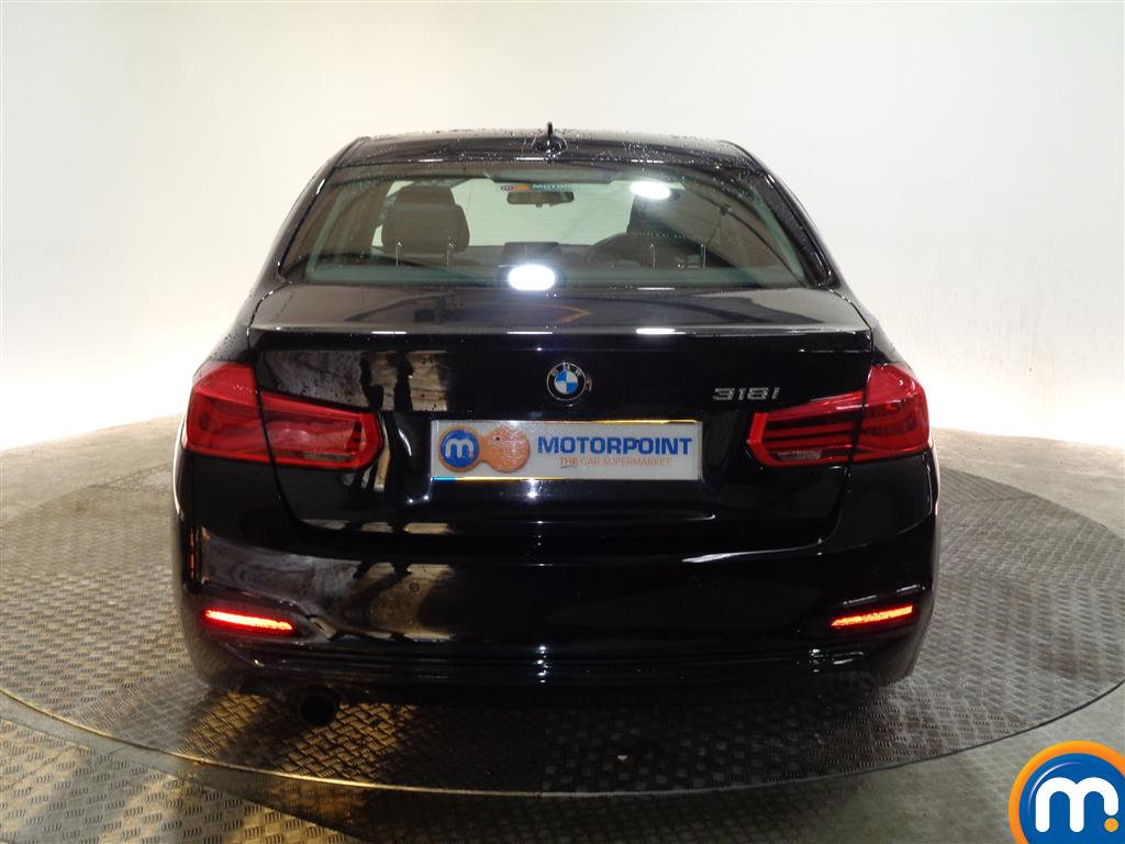 BMW 3 Series Sport Automatic Petrol Saloon - Stock Number (973744) - Rear bumper