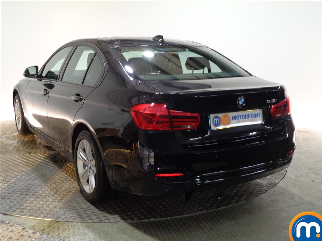 BMW 3 Series Sport Automatic Petrol Saloon - Stock Number (973744) - Passenger side rear corner