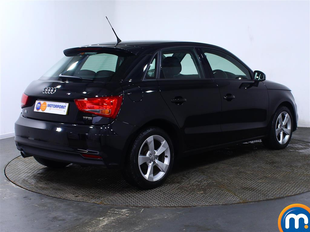 Audi A1 Sport Manual Petrol Hatchback - Stock Number (972671) - Drivers side rear corner