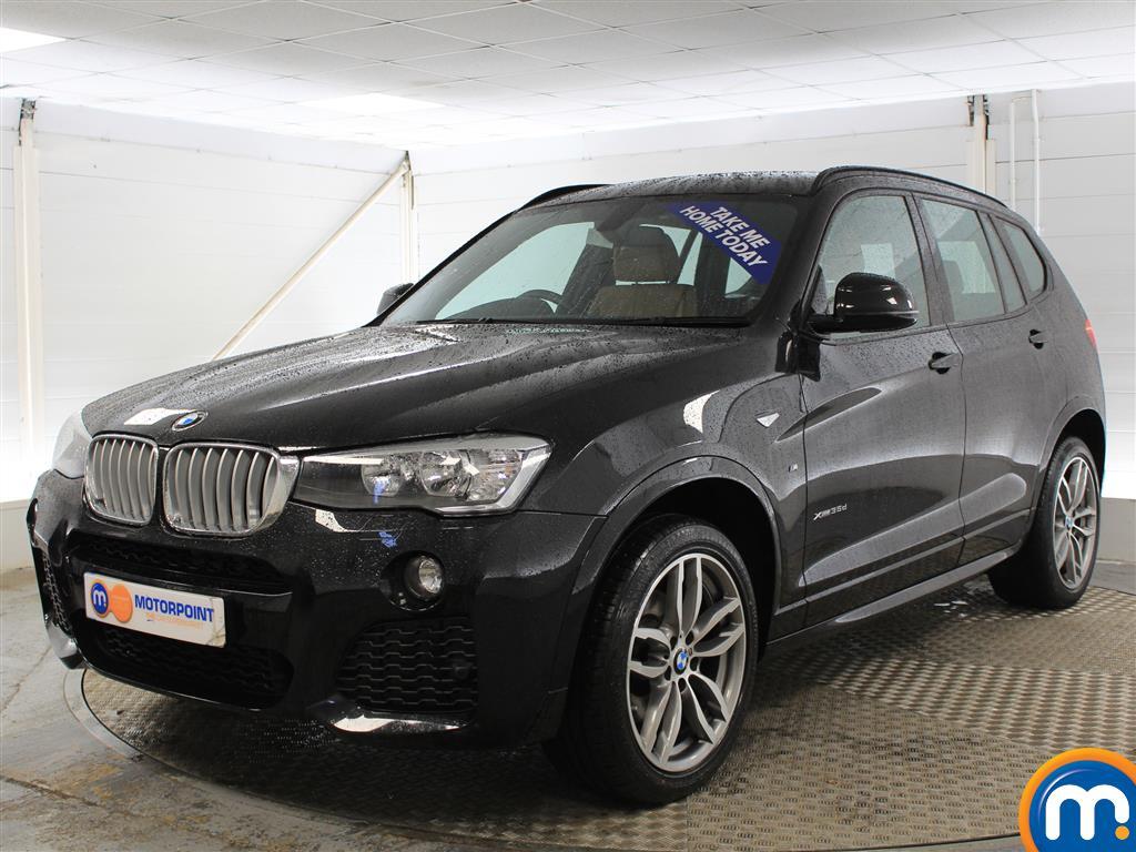 BMW X3 M Sport - Stock Number (973754) - Passenger side front corner