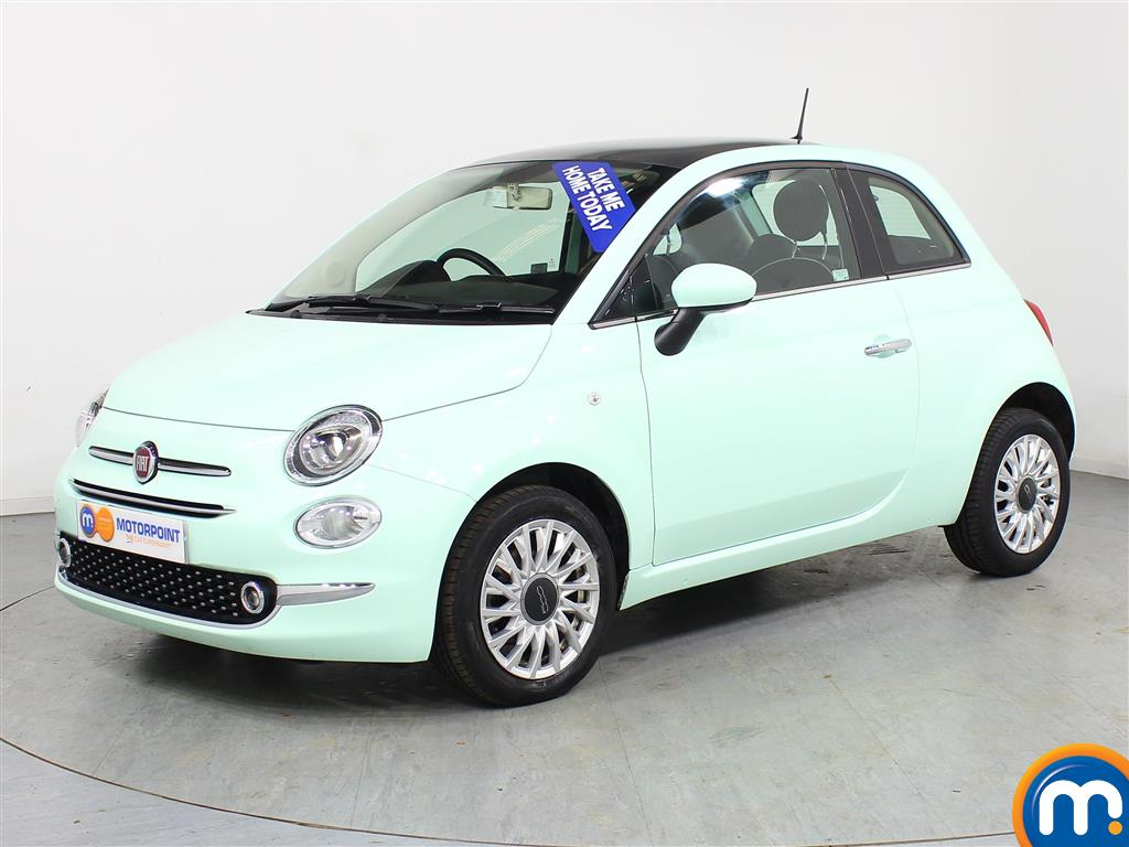 Fiat 500 Lounge - Stock Number (966371) - Passenger side front corner