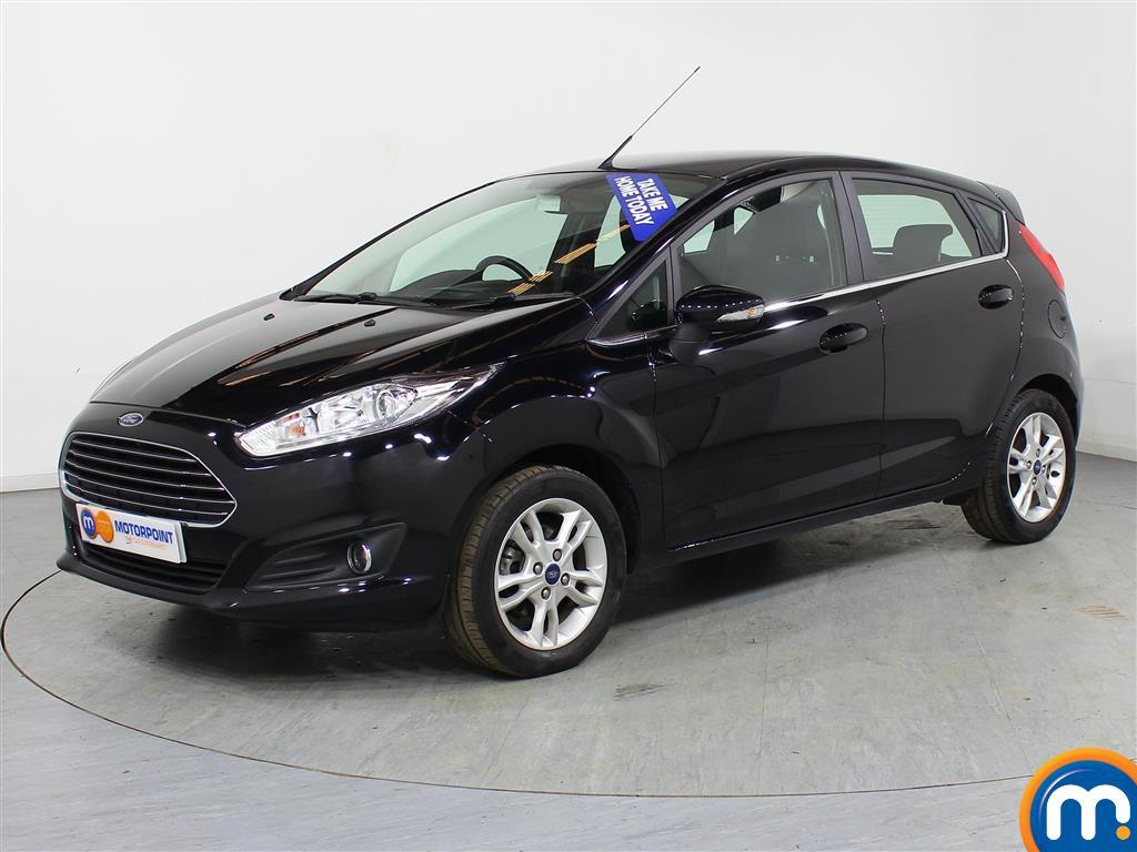 Ford Fiesta Zetec - Stock Number (963819) - Passenger side front corner